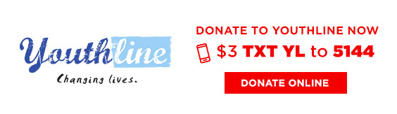 Donate to Youthline now. $3 TXT 'YL' to 5144